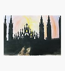Milano Sunset Photographic Print