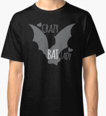 Crazy Bat Lady Classic T-Shirt