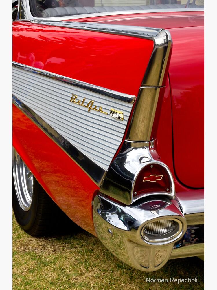 Chrome tail light - Chevrolet BelAir by keystone