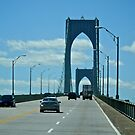 Up the Newport Bridge - Rhode Island - 2010 *featured in Drive By Shooting Group by Jack McCabe