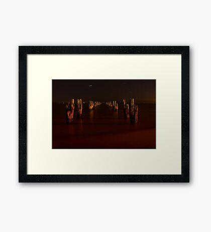 Night at Clifton Springs Framed Print