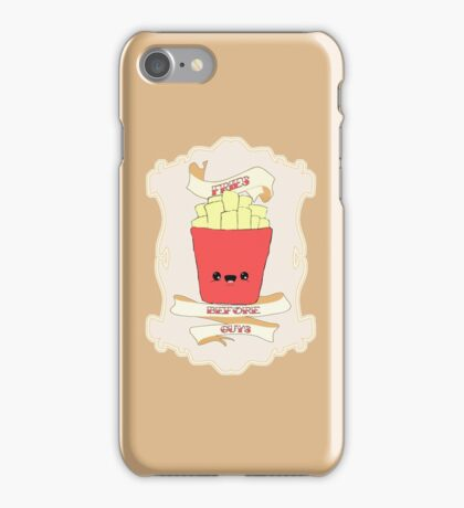 Fries Before Guys. iPhone Case/Skin