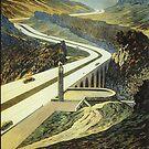 Reichsautobahnen, 1939 Tourist Ad by edsimoneit