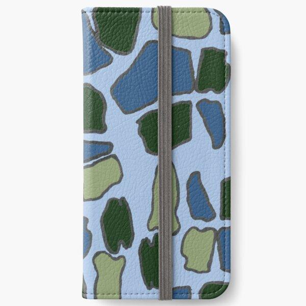 Geometric giraffes iPhone Wallet