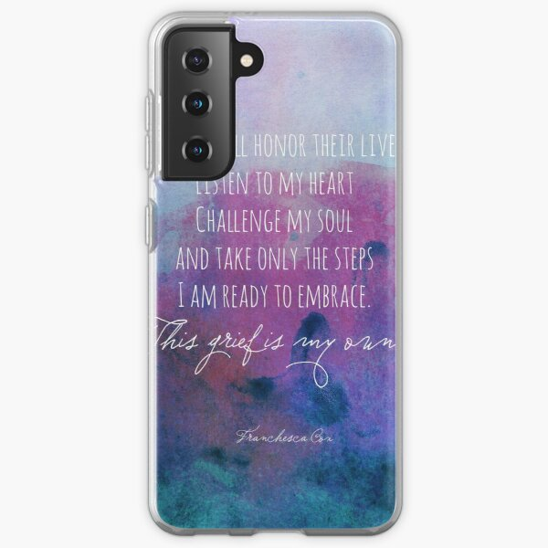 I will honor their lives Samsung Galaxy Soft Case