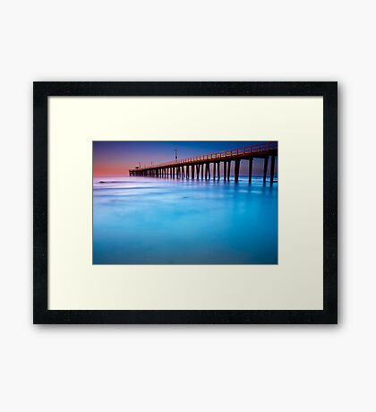 Dawn at Point Lonsdale #4A Framed Print