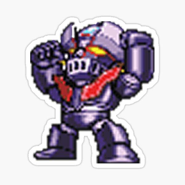 Mazinger Z Game Sticker