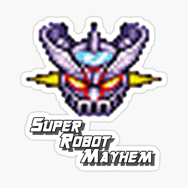 Mazinger Z Super Robot Mayhem Sticker