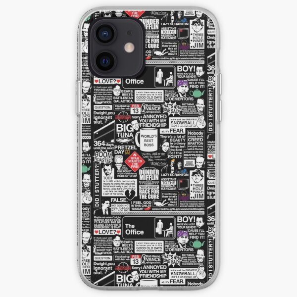 Wise Words From The Office - The Office Quotes iPhone Soft Case
