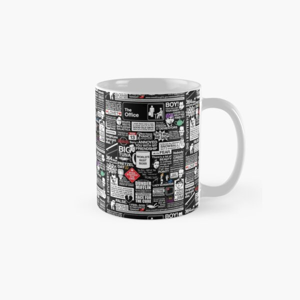 Wise Words From The Office - The Office Quotes Classic Mug