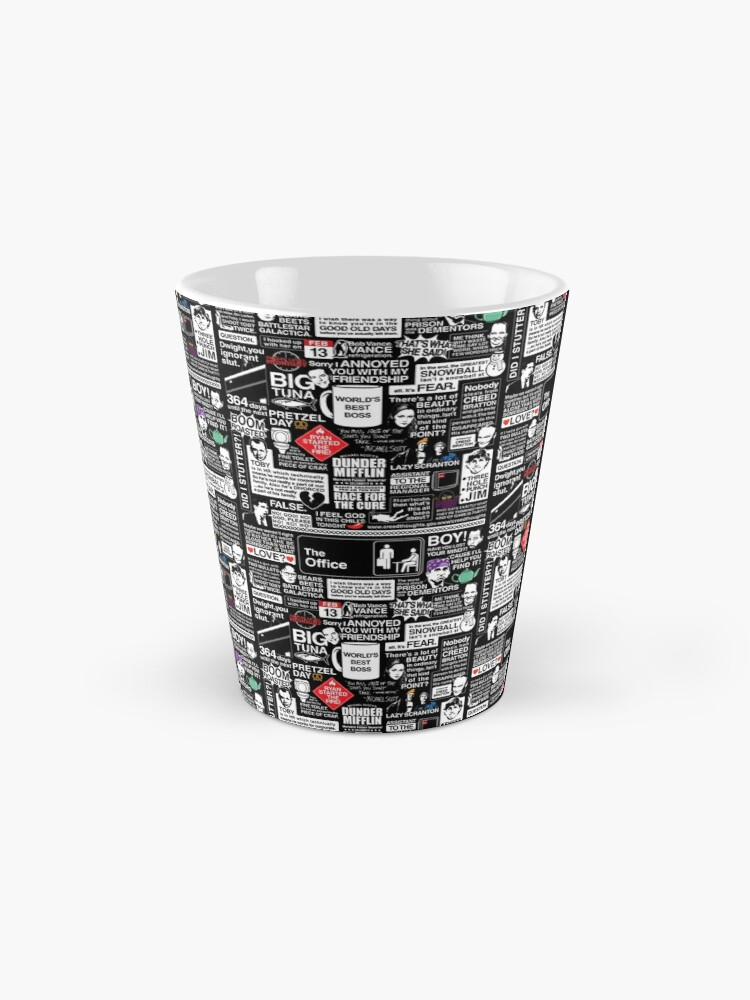 Alternate view of Wise Words From The Office - The Office Quotes Mug