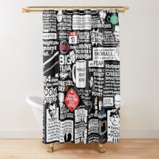 Wise Words From The Office - The Office Quotes Shower Curtain