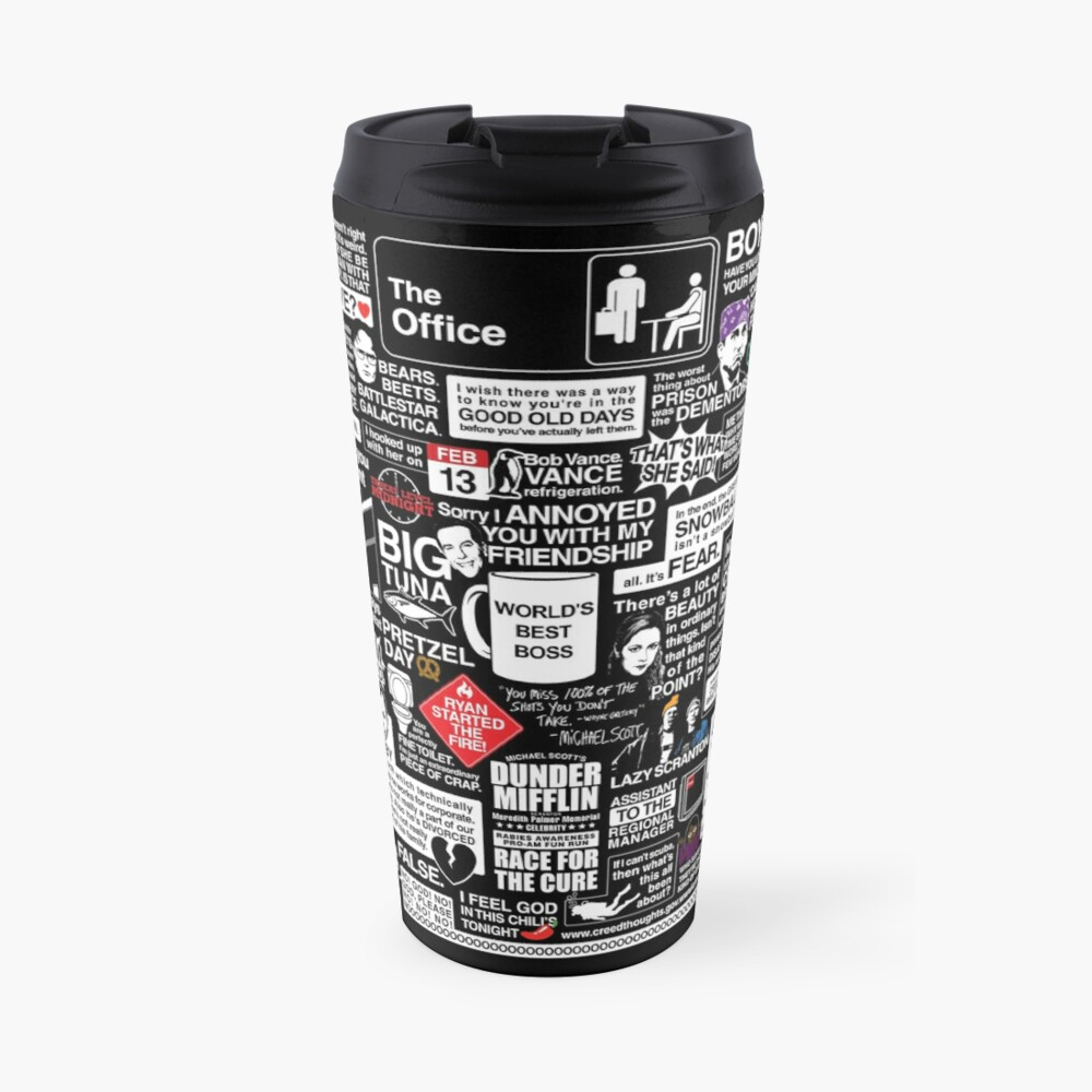 Wise Words From The Office - The Office Quotes Travel Mug