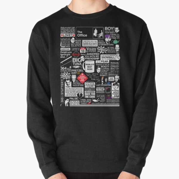 Wise Words From The Office - The Office Quotes Pullover Sweatshirt