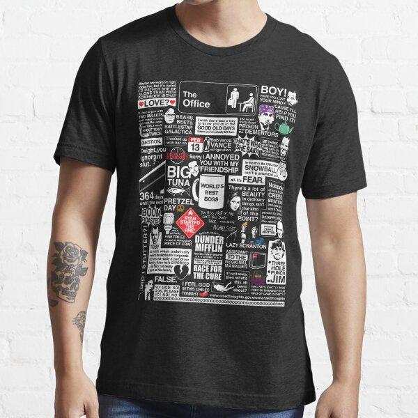 Palabras sabias de la oficina - Las citas de la oficina Camiseta esencial