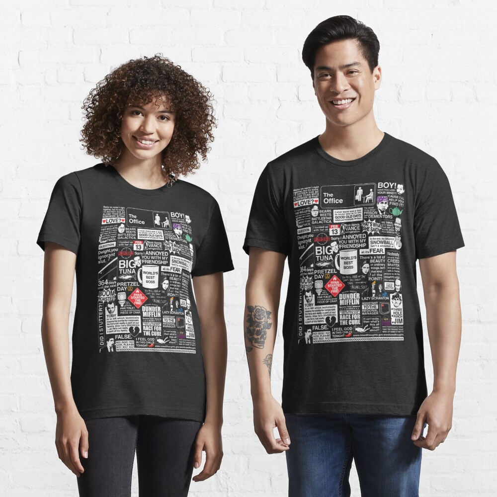 Wise Words From The Office - The Office Quotes Essential T-Shirt