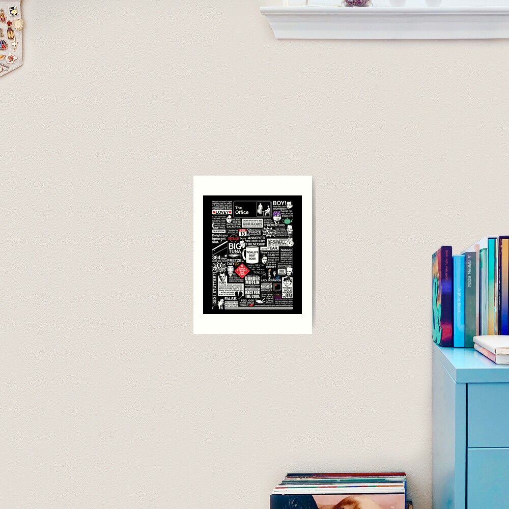 Wise Words From The Office - The Office Quotes Art Print