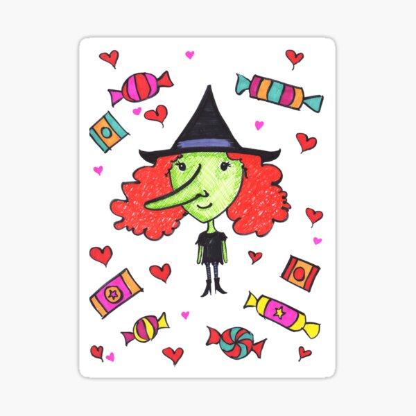 Switch Witch Sticker