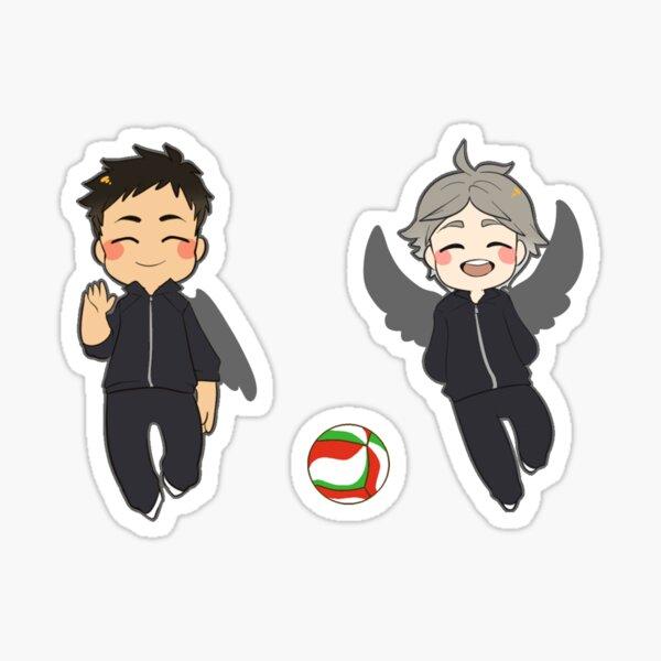 Haikyuu!! Daichi, Suga Sticker