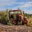 Rusted History - Lightning Ridge NSW Australia by Bev Woodman