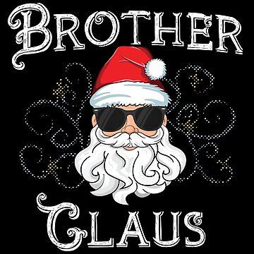 Papa Claus Matching Family Christmas T-Shirt Santa Dad by 14thFloor