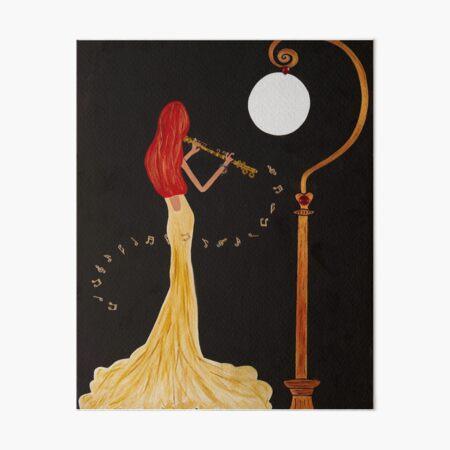 Soloist Art Board Print