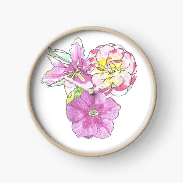 Florals Clock