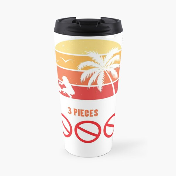 Beach Clean-Up: Every Time Pick Up 3 Pieces Of Plastic Travel Mug