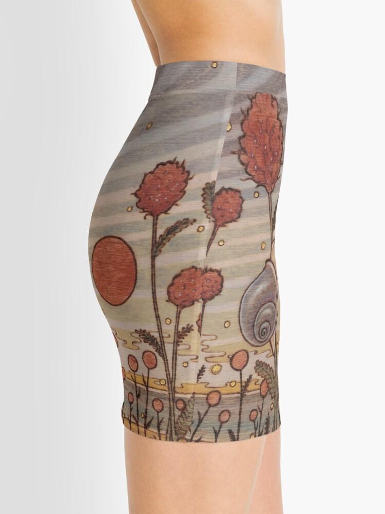 Alternate view of Snail in the Flowers Mini Skirt