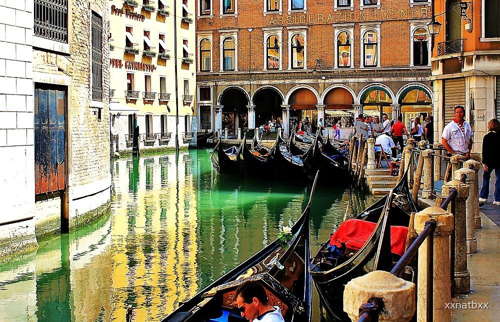 gondolas parked up  by xxnatbxx