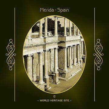 Mérida World Heritage Site In Spain by vysolo