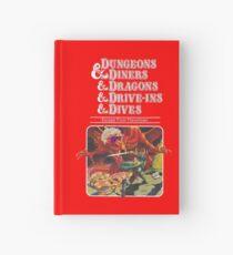 Cuaderno de tapa dura Dungeons & Diners & Dragons & Drive-Ins & Dives: Imagen ligeramente más grande
