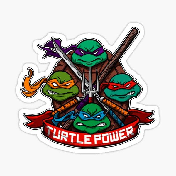 Turtle Power! Sticker