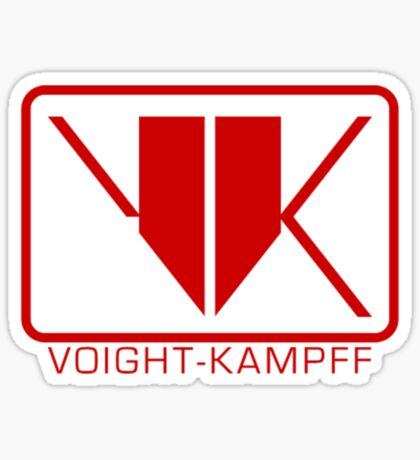 Voight-Kampff Sticker