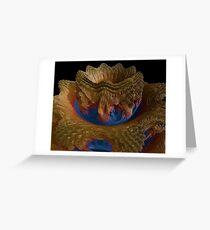Mandelbulb Crocus Greeting Card