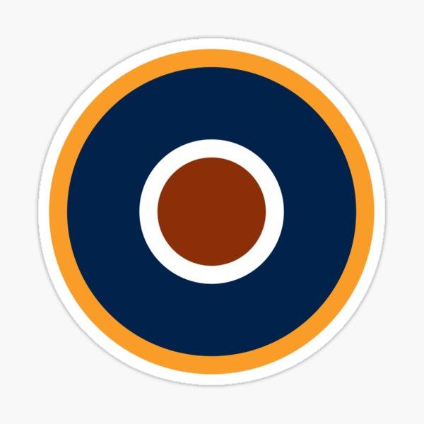 Spitfire Marking - Orange. Sticker