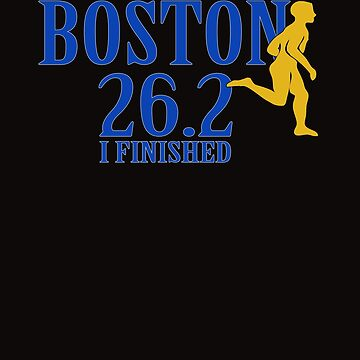 2019 Boston Marathon 26.2 I Finished by galleryOne