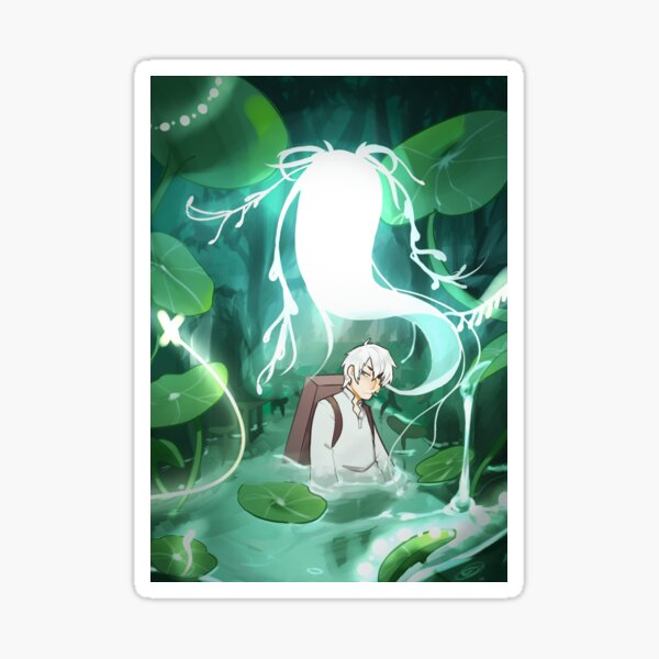 Ginko and the Silver Mushi Sticker