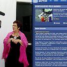 Interview with RTP (Radio Television Portuguese ) by Madalena Lobao-Tello