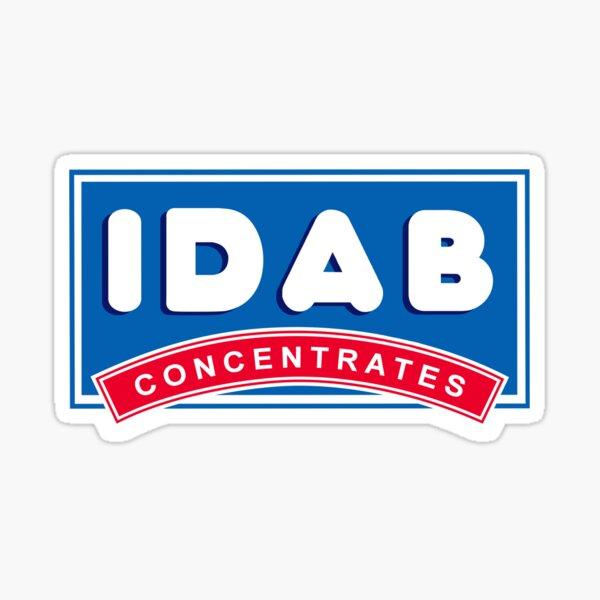 IDAB Concentrates Sticker