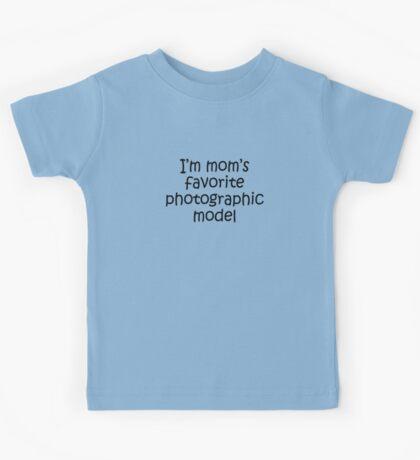 Kids Tee - mom's favorite model Kids Clothes
