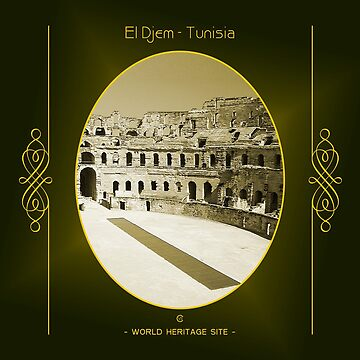 El Djem World Heritage Site In Tunisia by vysolo