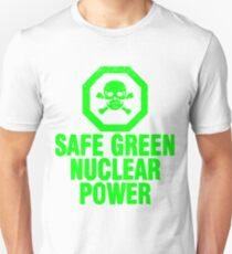 Poisoned by Irony - Green Unisex T-Shirt