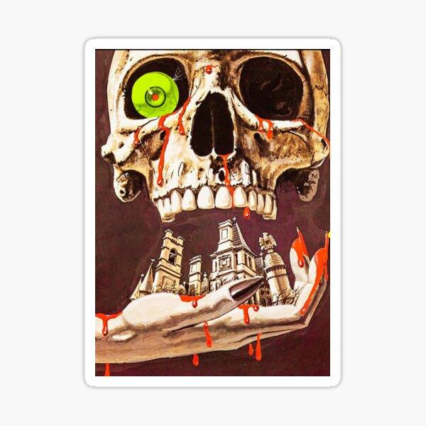 LEGEND OF HELL HOUSE 1973 HORROR MOVIE! Sticker
