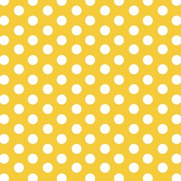 yellow, white,polka dots, modern,trendy,big dots, fun,happy,contemporary by love999