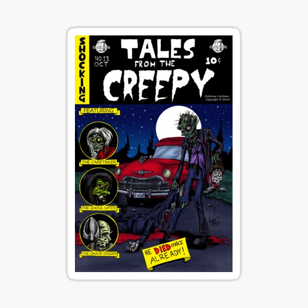 Tales From The Creepy Sticker