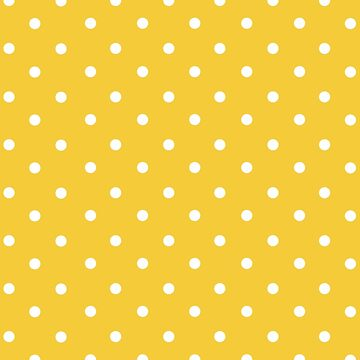 yellow, white,polka dots, modern,trendy,small dots, fun,happy,contemporary by love999