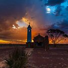 A Stormy Sunset by robcaddy