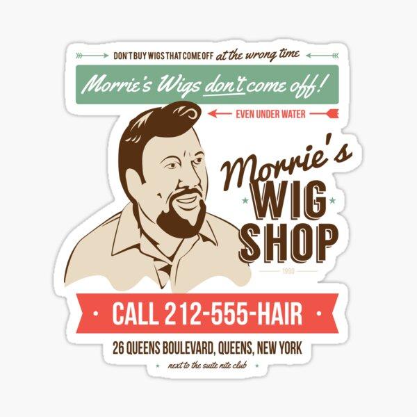 Morrie's Wig Shop Sticker