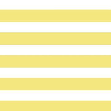 yellow, white,modern,trendy,girly,elegant,stripes,horizontal, by love999